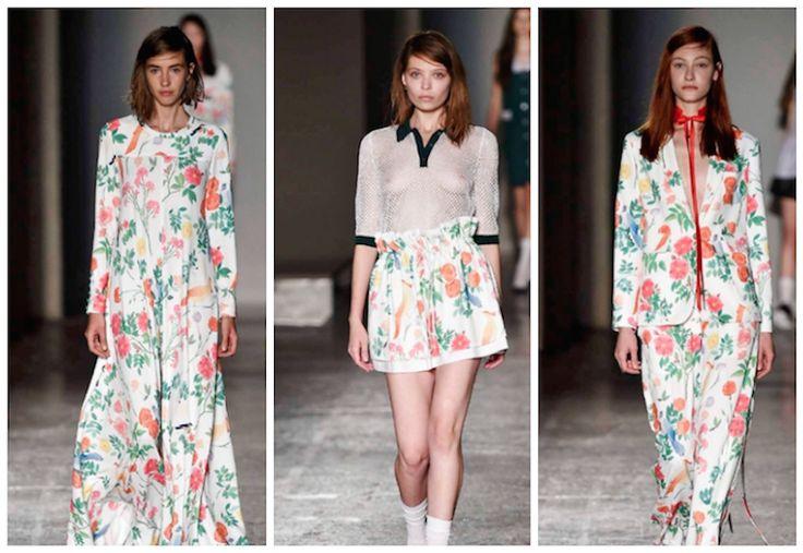 #fw #fashion #floral #dress #style #lifestyle #catwalk