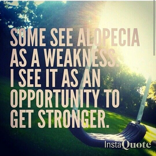 I wish I knew about all the support for alopecia when I was diagnosed at age four.