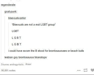 I was once told that asexuality isn't in the group. lgbtqi*a*pd+
