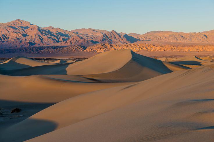 Dans la vallée de la Mort, en Californie.