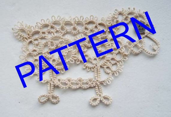 Tatting Sheep pattern . PDF pattern. Tatting pattern. by ShopGift