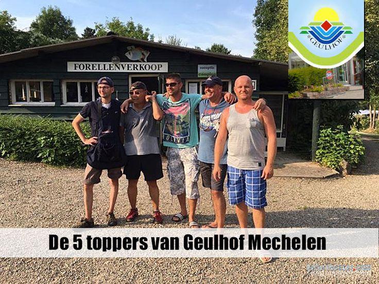 5 Toppers van Geulhof Mechelen die zich hebben geselecteerd voor NK forelvissen…