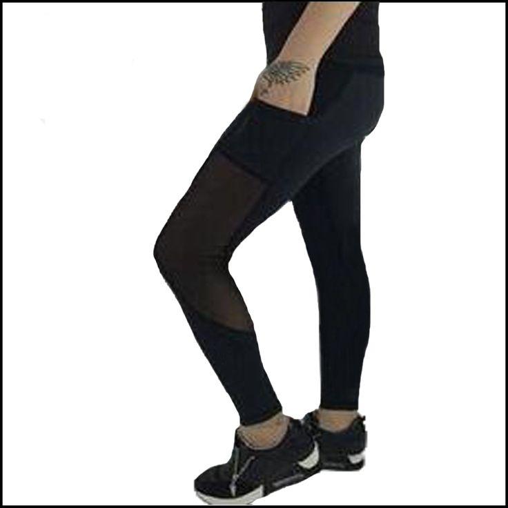 Femmes Lulu de leggings Skinny pantalon Dames Pantalon top qualité couture net fils dentelle capris pantalons de Survêtement Pantalon