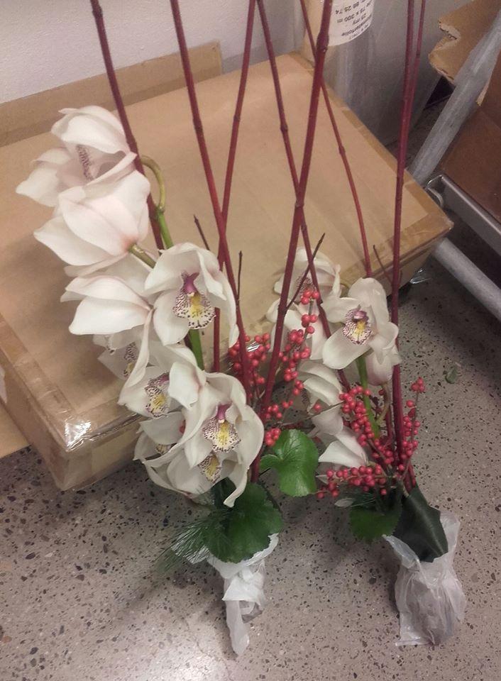 Lang Orkide bukett. 1