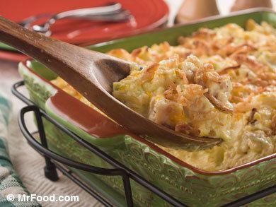 Unforgettable Chicken Casserole | mrfood.com