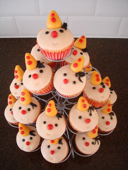 Bumba cupcakes - Taartjes van Eer