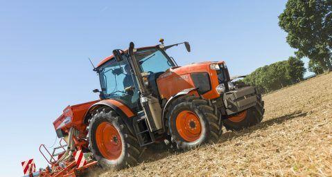 Neben der Modellreihe 5001 hat Kubota am Donnerstag auch die neue Traktoren-Baureihe MGX III vorgestellt. Dieses Modell tritt die Nachfolge der Modellreihe MGX II an.