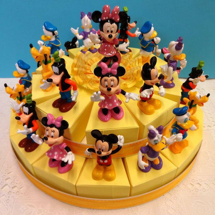 Italian Favor Cake with Walt Disney ClubHouse, 24 boxes http://www.tortebomboniere.com/bomboniere/walt-disney-favor-cake.html