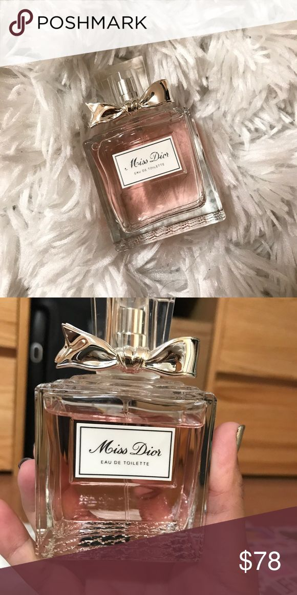 Miss Dior perfume Hardly used, bottle is almost full. I have too many perfumes so trying to get rid of some Dior Makeup