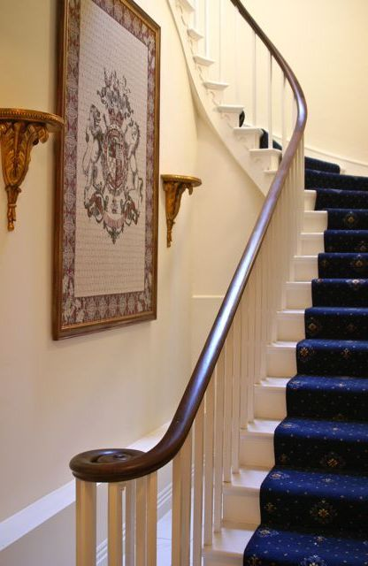 12 best victorian stairs images on pinterest victorian for Georgian staircase design