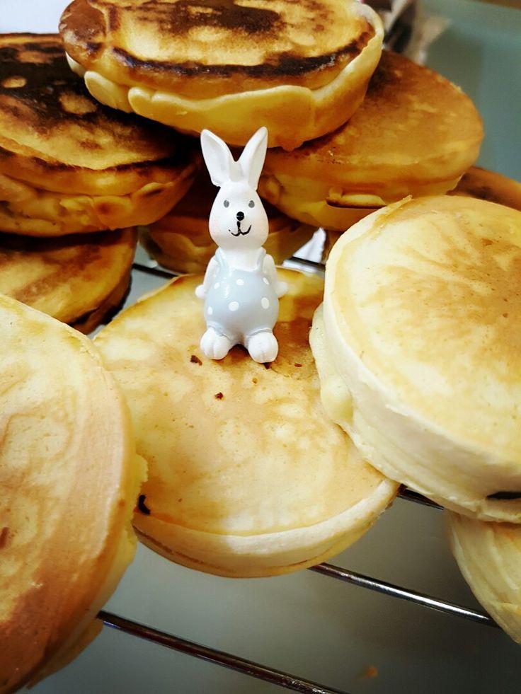 Red Bean Pancake Bun