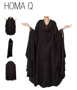 I love this huge abaya