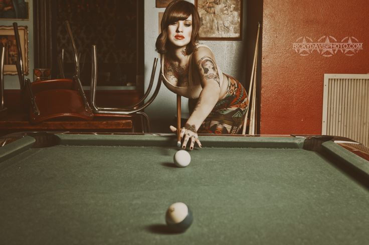 Model - Lauren Jewels  Location - Dots Cafe Photo - Ricky Davis Photo www.rickydavisphoto.com  lauren jewels, billiards, pool hall, dots cafe, seventies, 70's, retro, vintage, model, tattoo model, tattooed, alt model, ink, inked girls, pool, photoshoot, photography, ricky davis photo, fashion
