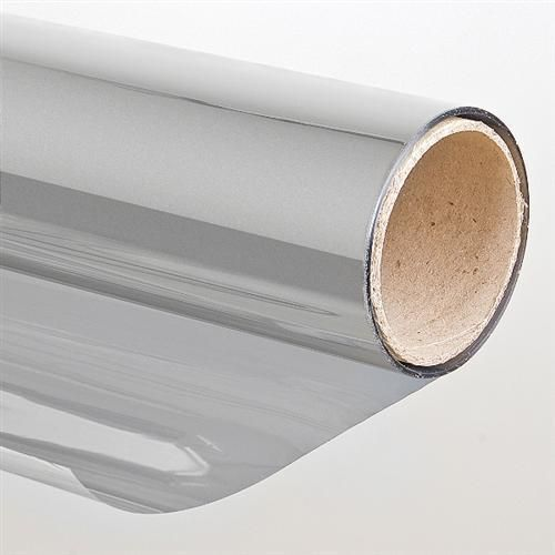 Sonnenschutzfolie 75x300cm Selbstklebend Spiegelfolie Spiegeleffekt Silber  | eBay