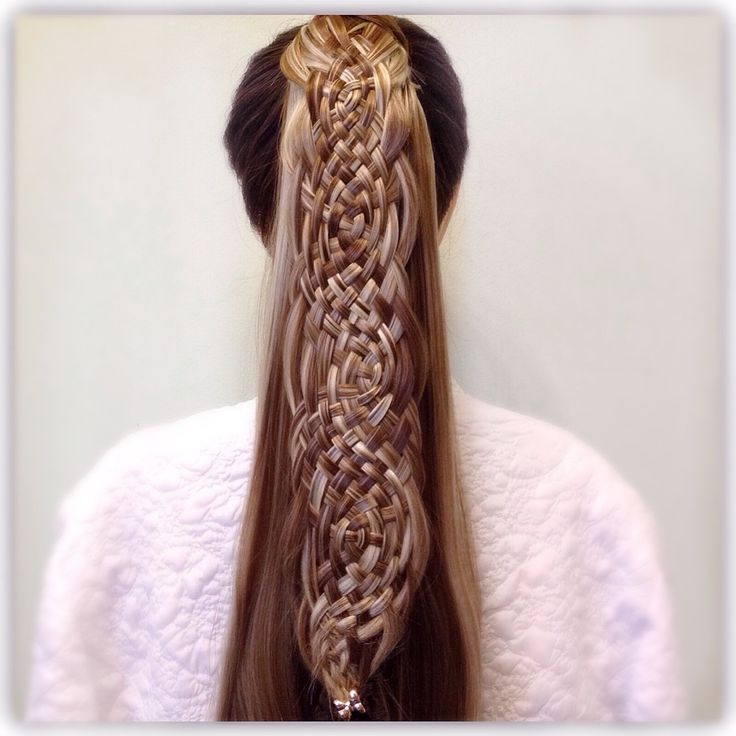 Basket Weave Braid Ponytail