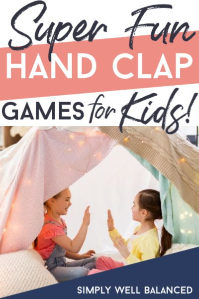 Simple Hand Clap Games for Kids – Fun Ideas for Kids