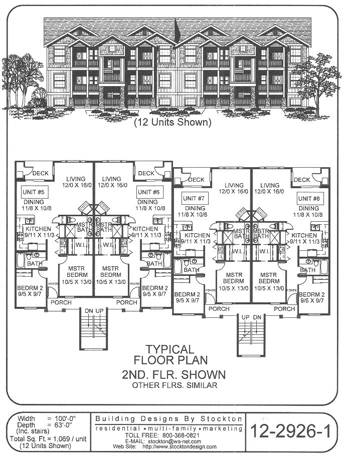 202 best images about apartment house plan ideas on pinterest for 8 unit apartment building plans