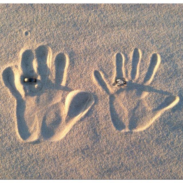 Henson Beach trip 2012 by MeLeah H #Beach #Handprints