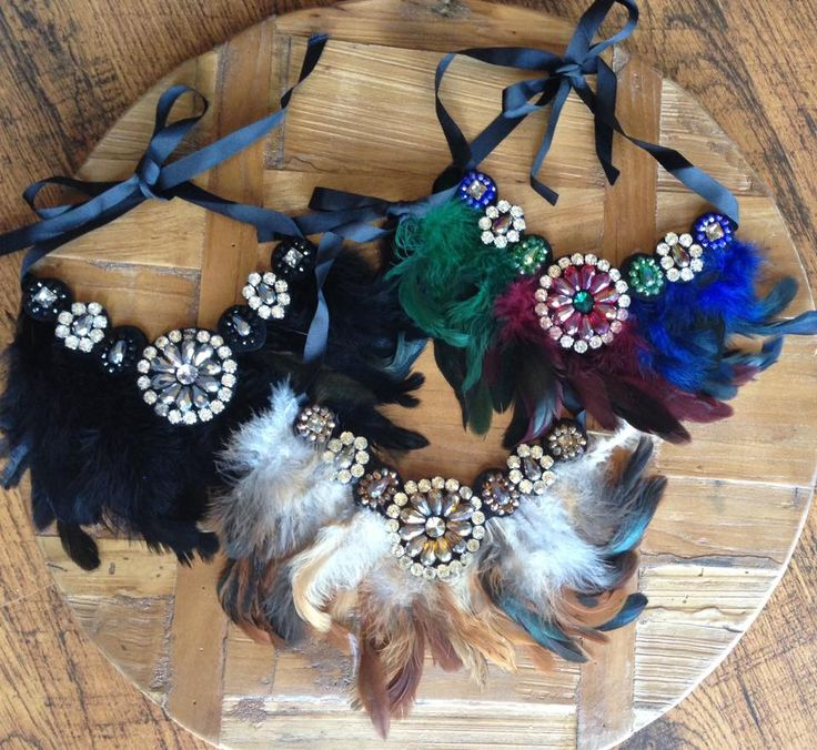 Gorgeous feather statement necklaces, only a few in each colour left! Only $30.40 when using discount code SWSK2DIS at checkout with free postage in Australia