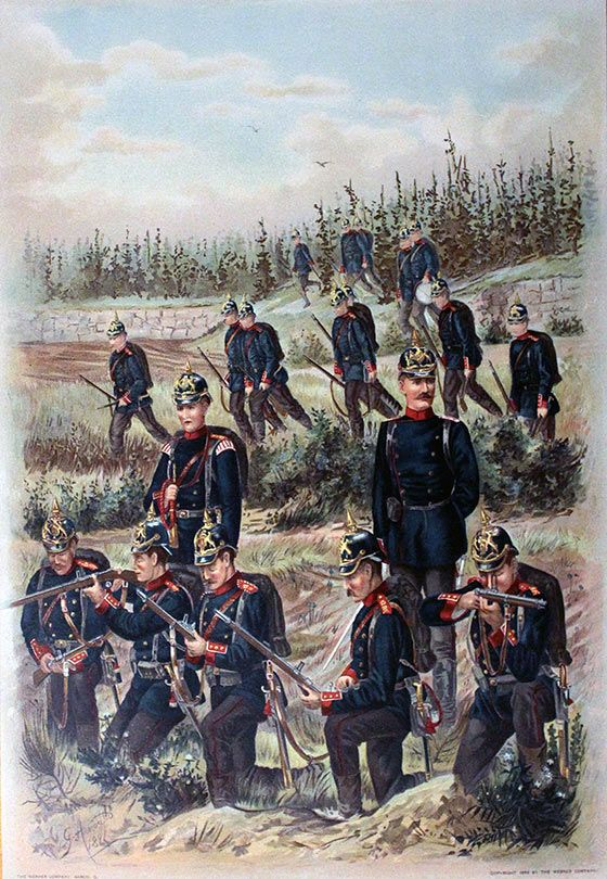O To Ww Bing Com25 30: 125th Würtemberg Infantry Regiment Battle Of Mons