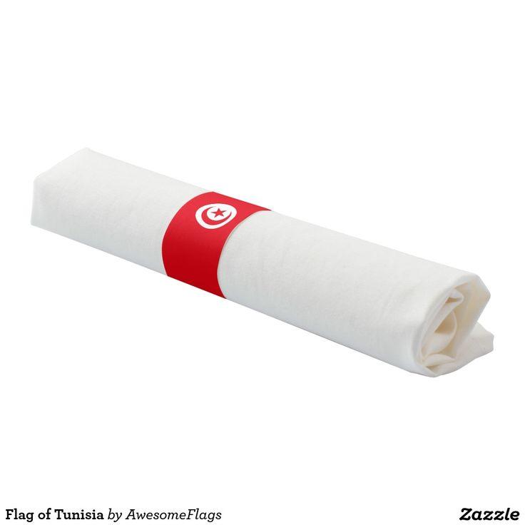 Flag of Tunisia Napkin Band