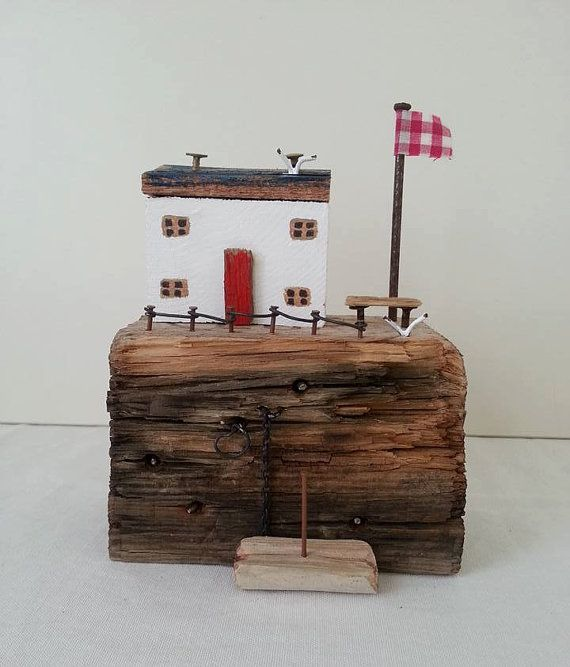 Driftwood Houses by TTassel on Etsy
