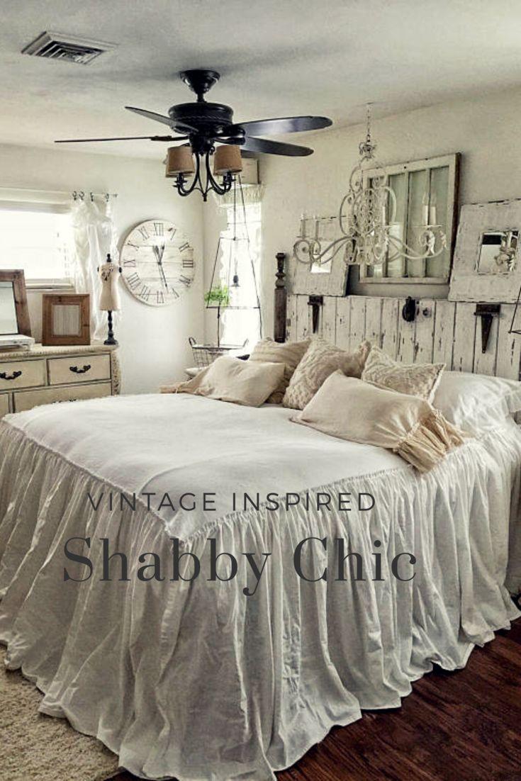 Shabby chic Linen bedding