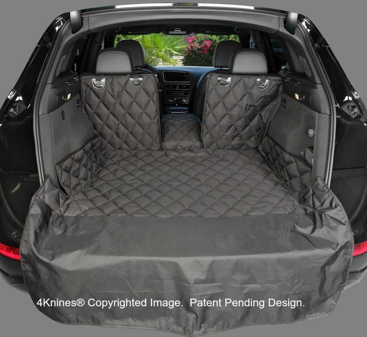 Xl Suv 60 40 Split Cargo Cover Liner For Dogs And Pets