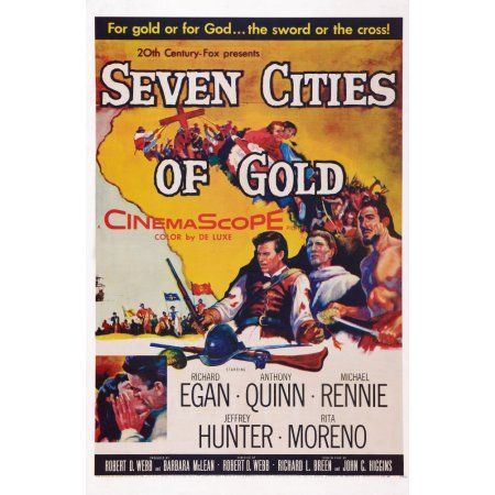 Seven Cities Of Gold U Canvas Art - (11 x 17)