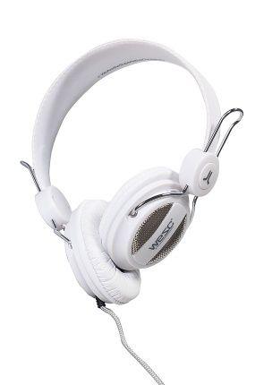 Słuchawki - WeSC - Słuchawki Oboe White