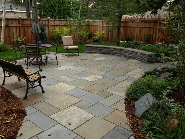 17 best ideas about paver patio designs on pinterest for Paving stone garden designs