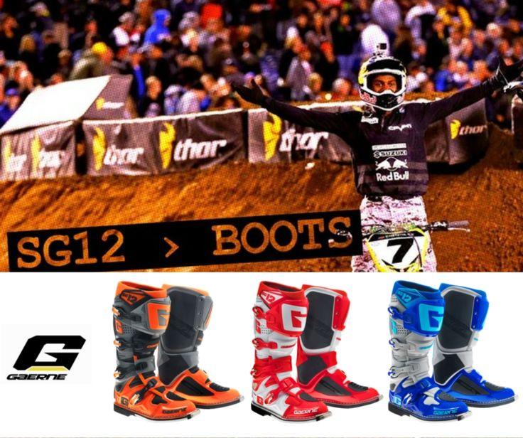 BOTAS GAERNE SG12 | Já estão disponíveis as novas cores das Botas Gaerne SG12 para 2016! Fale connosco através do email geral@lusomotos.com Como gostamos de saber o que os nossos seguidores gostam mais, digam-nos qual a cor que preferem. #gaerne #sg12 #botas #mx #motos #offroad #lusomotos