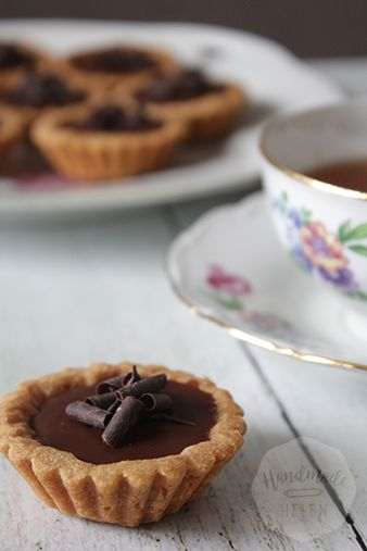 Tartelettes met ganache | HandmadeHelen