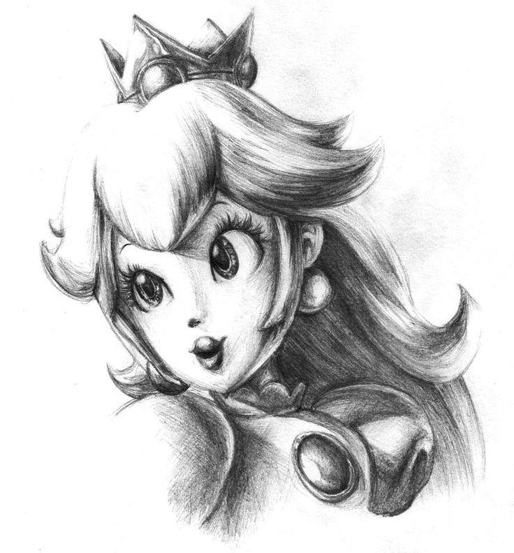Princess Peach By My Magic Dream On Deviantart Super Mario Art Mario Tattoo Mario And Princess Peach