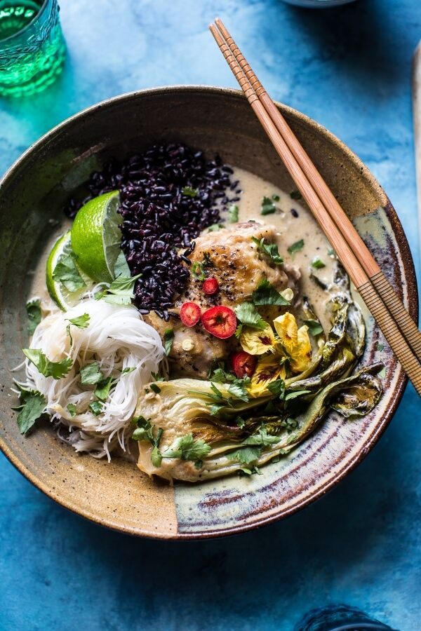 Thai Lemongrass Chicken Braised in Coconut Milk | halfbakedharvest.com @hbharvest