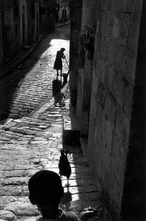 Sergio Larraín - Sicily, Village of Corleone, Italy, 1959