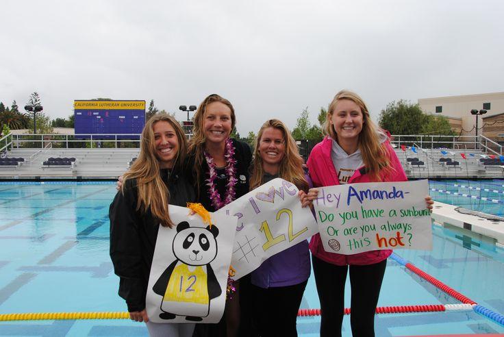 Water polo senior day