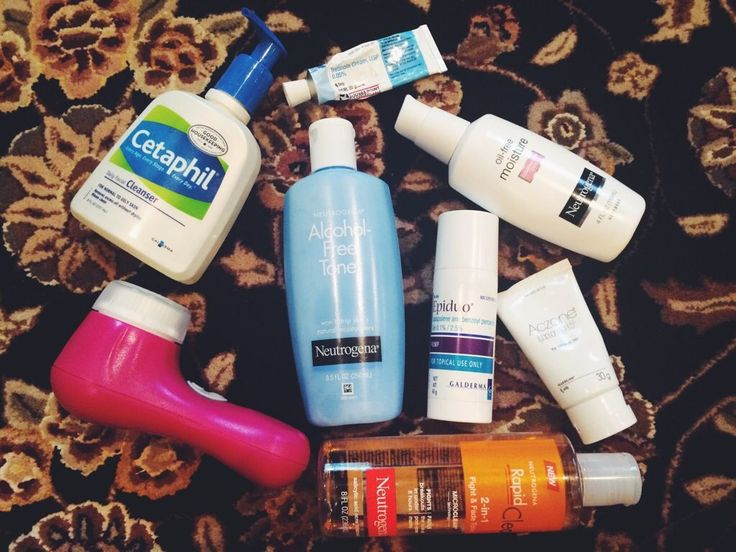 Skin Care Routine for Sensitive, Oily, Acne-Prone Skin