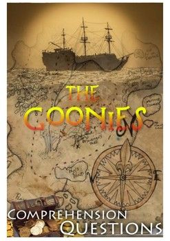 This 7 page movie guide is for the movie 'The Goonies.'   Part 1 Students have 20 minutes to complete this part, which will be followed on with a class discussion and sharing answers. There are 6 questions based around the life of pirates. Asking for thoughts and feelings about certain situations.  Part 2 This part has 26 comprehension questions in chronological order.   Part 3 This is a character analysis.