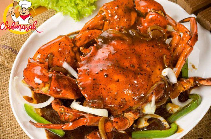 Resep Kepiting Lada Hitam, Resep Hidangan Cina Favorit, Club Masak
