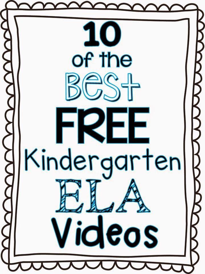 Herding Kats in Kindergarten: 10 of the Best FREE Kindergarten Language Arts Videos
