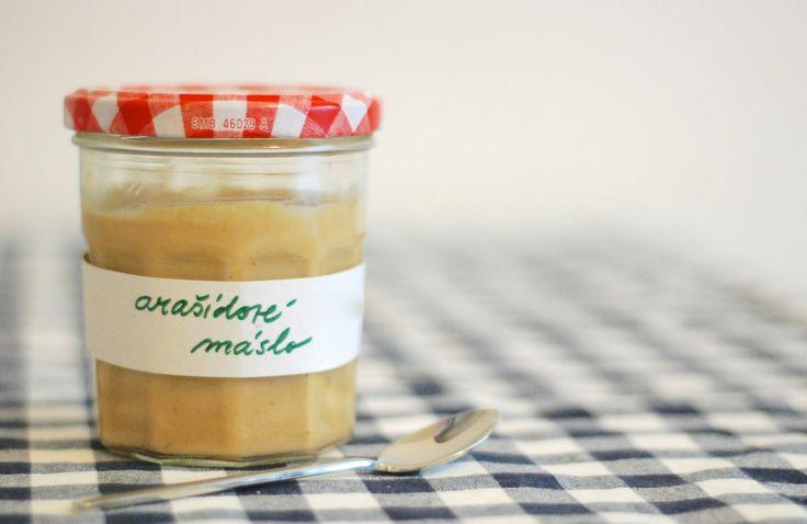 Domácí arašídové máslo
