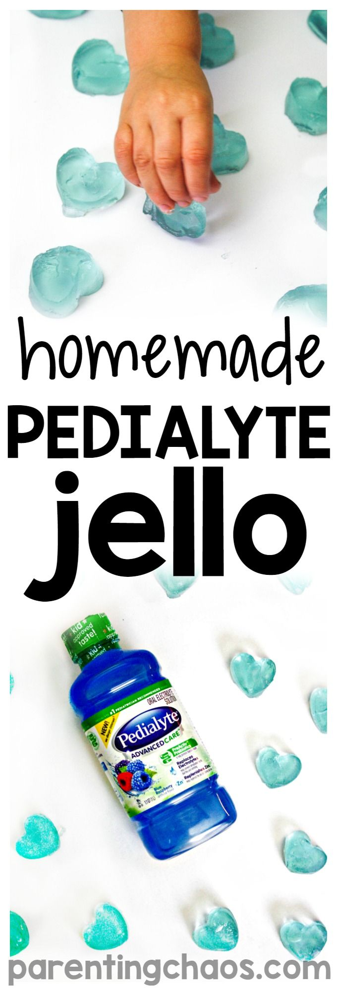 It's that time of year again. If you are hearing the sniffles starting to sneak up in your home this Homemade Pedialyte Jello is a great recipe to keep on hand to help your family stay hydrated. #goodbyeflu #seethelyte #ad