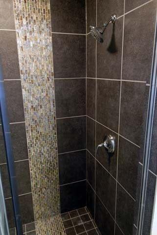 Slate shower tile