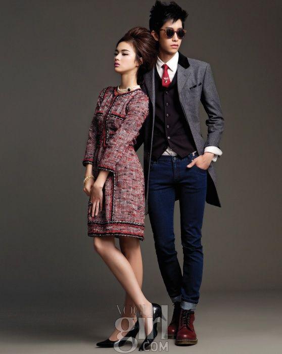 korean vogue couple