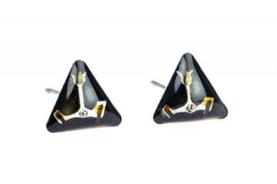 Kolczyki Triangle  tulip