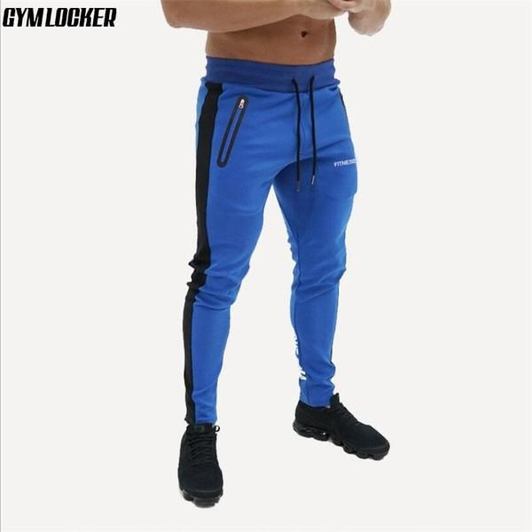 Long Pants Trousers Male Summer Casual Gym Slim Sweatpants