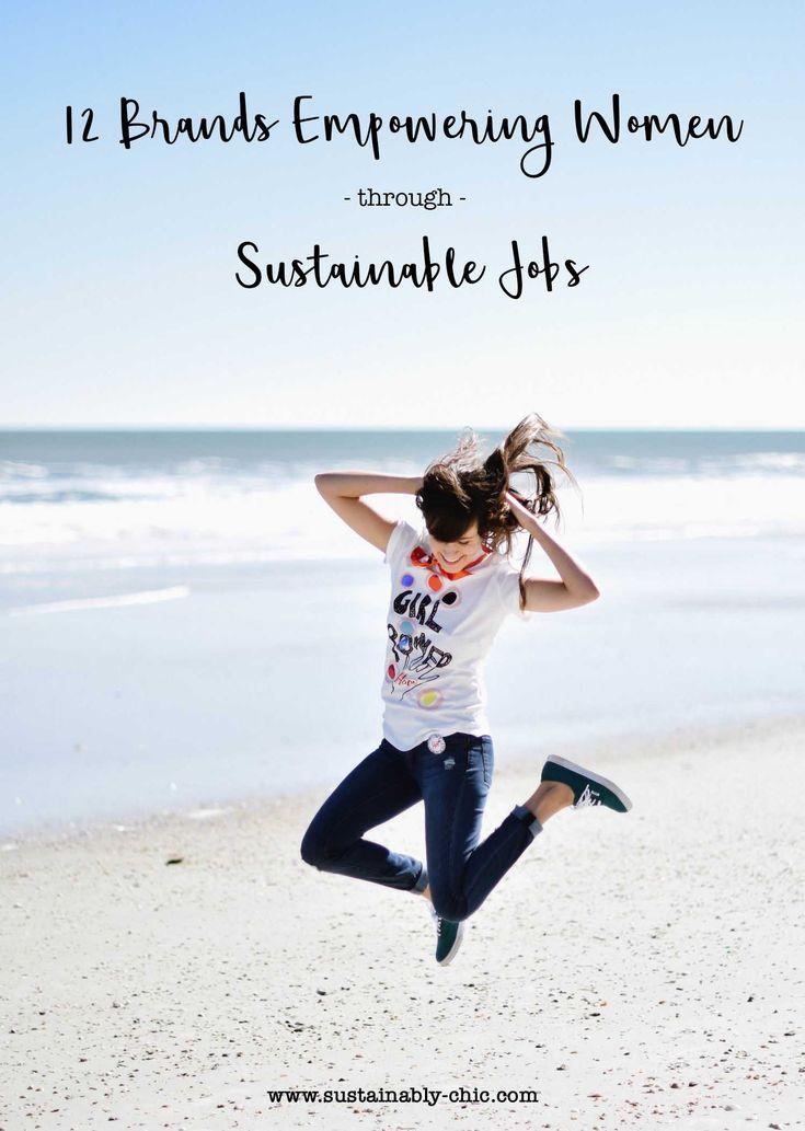 12 Brands Empowering Women through Sustainable Jobs