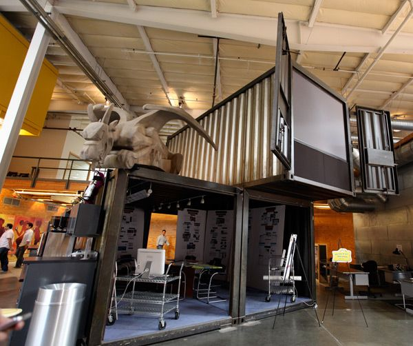 TBWA\ Chiat\ Day Office Interior Design ::: Creative use of shipping containers