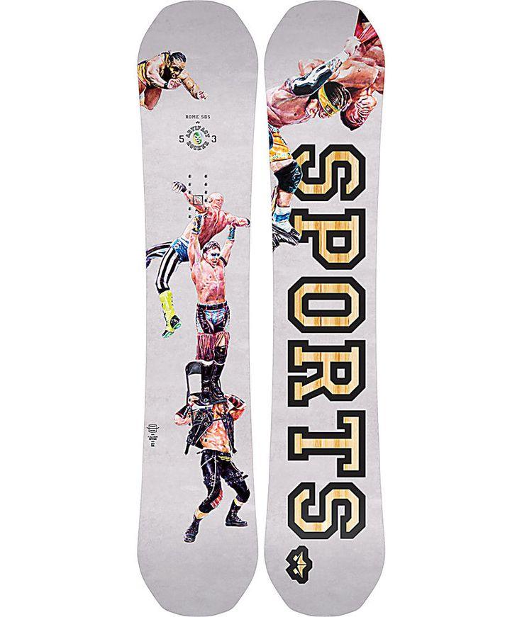 NEW Rome Snowboards Artifact Rocker Snowboard Free Pop Rocker SIZE 150 #RomeSnowboards